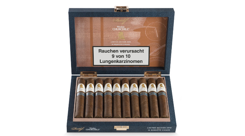 """The Traveller"" – neue Davidoff Limited Edition der Winston Churchill-Serie 1"