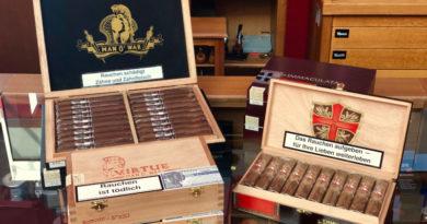 """Aus der A.J. Fernandez-Manufaktur kommen """"Man O'War"""" und """"Ave Maria"""" in die CigarworldLounge"""