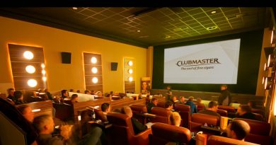 Movie Lounge in Damme / Neuer Look für die Kino-Genussraucheroase