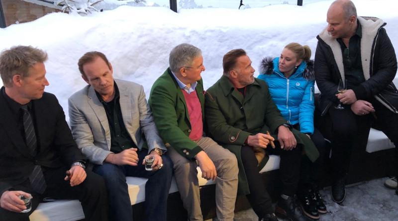 """Daniel Marshall Cigarren und Padre Azul Tequila auf dem """"Stockerl"""" in Kitz"""