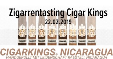 Die CigarKings Cigarren machen Station in der Bugge-Lounge