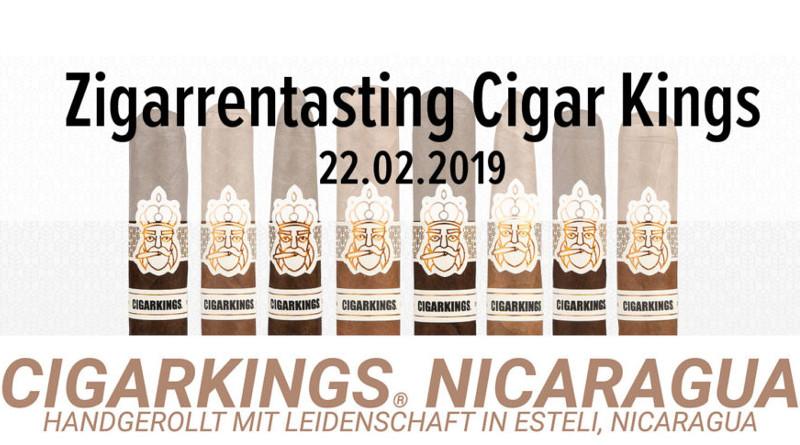 Die CigarKings Cigarren machen Station in der Bugge-Lounge
