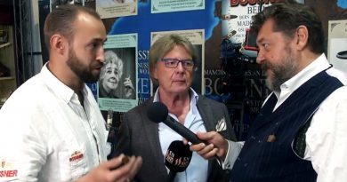 Konstantin Baron von Bossner interviewt Klaus Peter Will