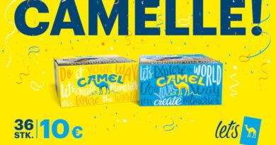 """Camel kam mit """"Camelle"""""""
