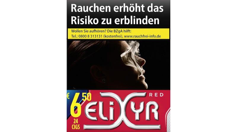 Einmal Trend – immer Trend: Trendzigarette Elixyr Red