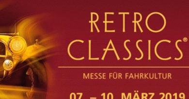 """Tabacum-Chef Schäuble lädt zur """"Retro Classic"""" ein / Termin: 07. - 10.03.2019"""