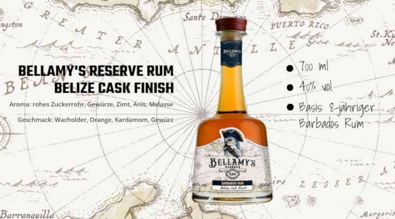 Run auf dem Rum nutzen: Bellamy's Reserve Rum