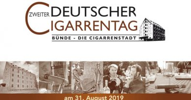 Save the Date: 2. deutscher Cigarrentag am 31.08.2019