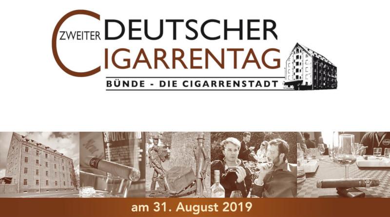 Save the Date: 2. deutscher Cigarrentag am 31.08.2019
