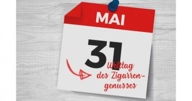2.Welttag des Cigarrengenusses am 31. Mai 2019