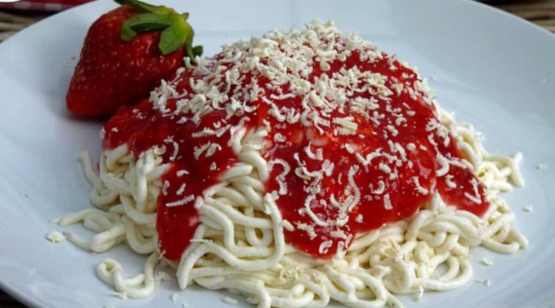 50 Jahre Spaghetti-Eis