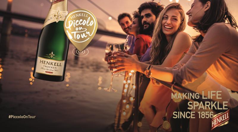 Prickelnde Reise um die Welt: Henkell Piccolo on Tour
