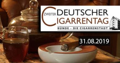 2. Deutschen Cigarrentag – bis zum 30.04. gibt es den Frühbucher-Rabatt