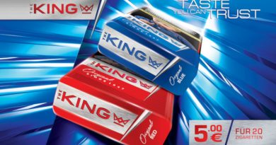 "Taste you can trust – das ist ""King"""