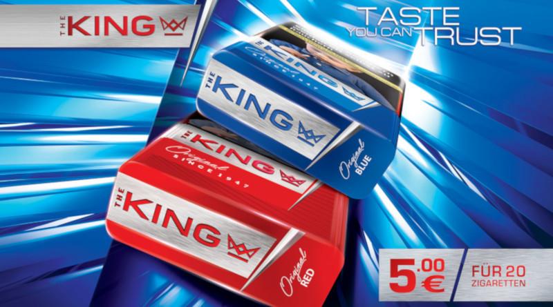 Hauser GmbH platziert royale Zigarettenmarke im Handel