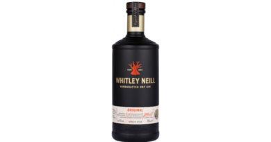 Whitley Neill Gin erstrahlt in einem schlankeren Design