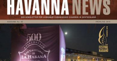 Havanna News No.83 - Frühling 2019