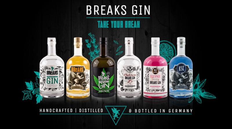 Breaks Gin verkörpert alles was ein Premium Gin bieten muss