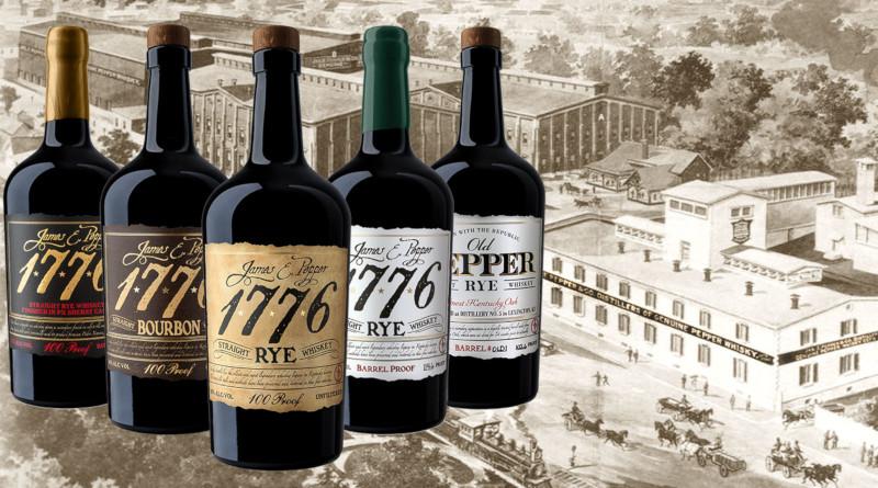 1776 Straight Rye Whiskey aus der James E. Pepper Destillerie begeistert