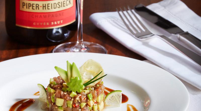 Piper Heidsieck Cuvée Brut mit Tuna Tatar