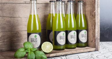 BALIS – der Basilikum Ingwer Drink