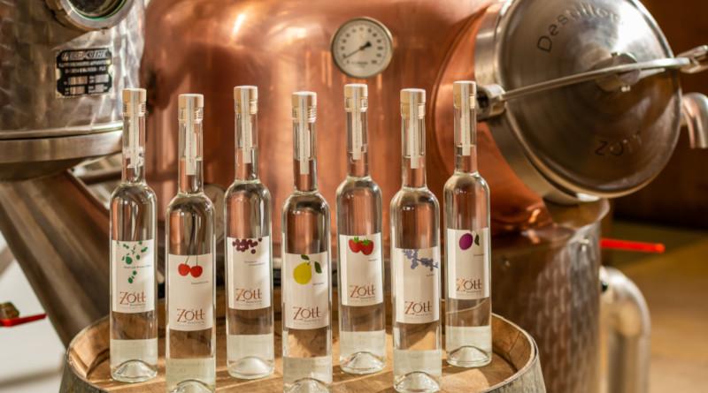 Auszeichnungen für die Destillerie Zott