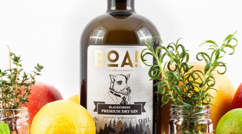 BOAR Gin ist der höchstprämierte Gin der Welt
