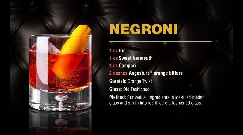 100 Jahre Negroni: Der Drink des Grafen
