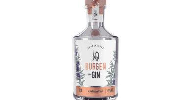 """Neuer """"Burgen Dry Gin"""" in limitierter Auflage"""