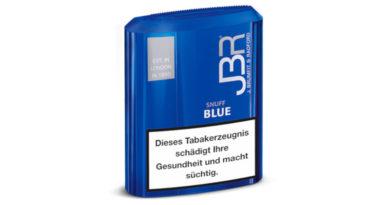 Der fruchtig-frische Schnupftabak: JBR Blue Snuff
