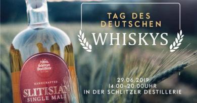 """Die Schlitzer Destillerie freut sich am 29.06.2019 ab 14 Uhr die """"Freunde des Wasser des Lebens"""""""