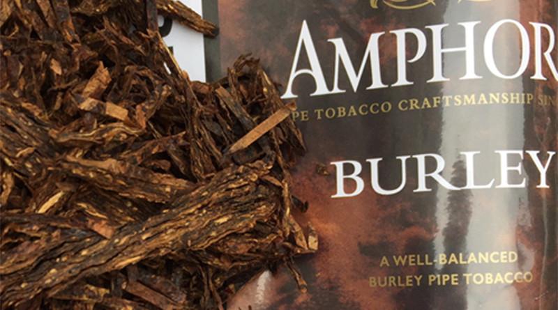 Amphora Burley Pfeifentabak überzeugt durch Natürlichkeit