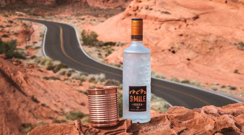 """9 Mile Vodka"" - mit der Inspiration des Canyon"