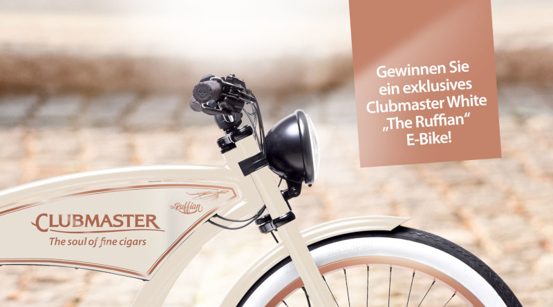 Clubmaster White: Easy Riding. Easy Living. Easy to win!
