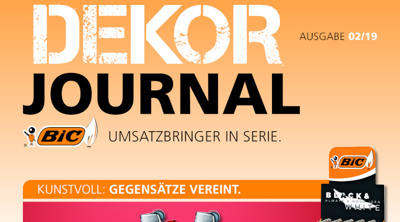 Das aktuelle digitale BIC Dekor-Journal zum Blättern - hier auf smokersplanet.de