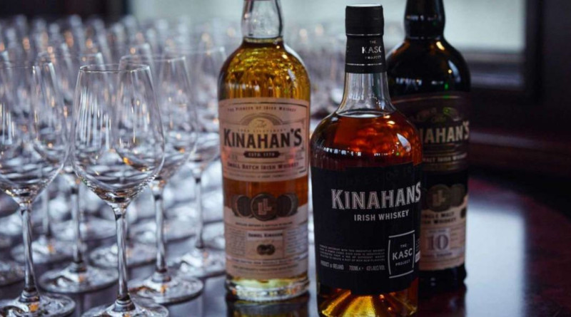 Kinahan's Irish Whisky reift in Hybridfässern