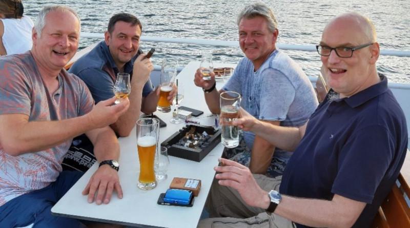 See- und Genussspezis mit Balmoral auf dem Starnberger See