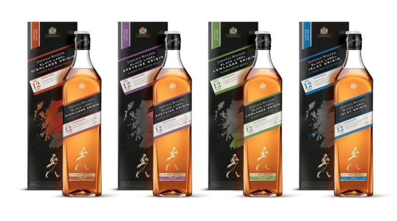 Schottlands unterschiedliche Aromen mit der Johnnie Walker Black Label Origin-Serie entdecken