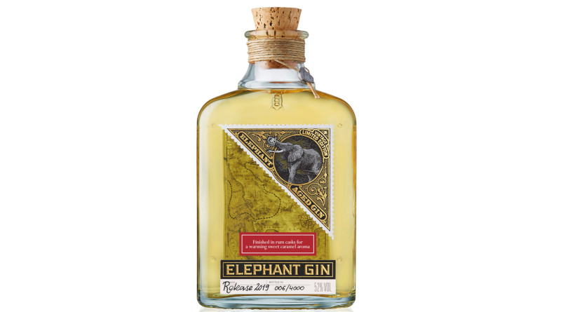 Elephant Aged Gin II - in Botucal Rumfass vollendet