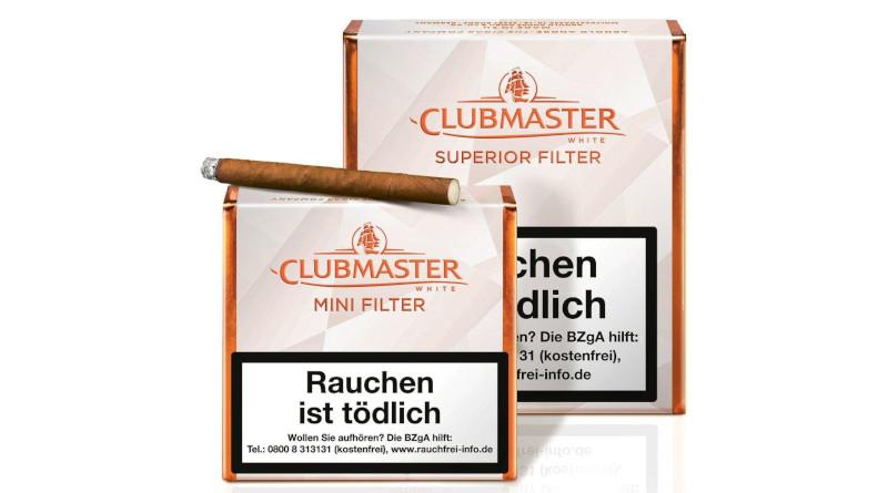 Jünger. Frischer. Genussvoller: Clubmaster-Cigarillos