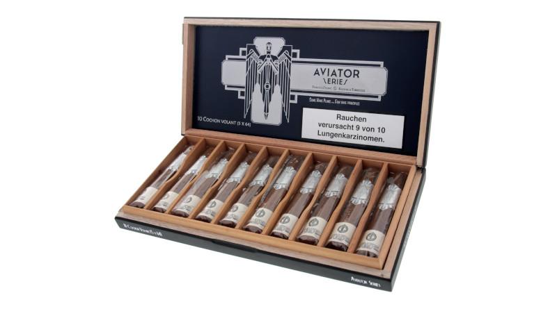 """Außergewöhnlich: Nicht nur in der Form – Die """"Principle Cigars Aviator"""""""
