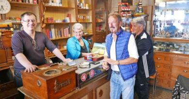 Willkommen im vielleicht ältesten Tabakladen Deutschlands