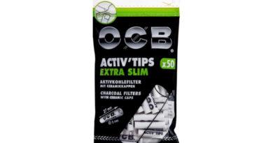 OCB Aktivkohlefiltern im 6mm und 7mm Durchmesser