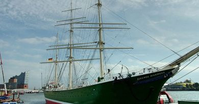 """Captains Table"" mit Balmoral auf der Rickmer Rickmers in Hamburg"
