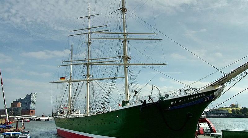 """""""Captains Table"""" mit Balmoral auf der Rickmer Rickmers in Hamburg"""
