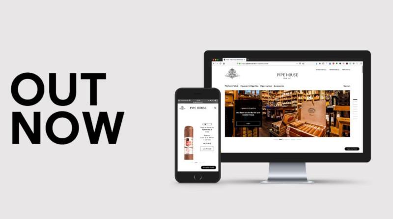 PipeHouse mit neuem Shop – im Internet
