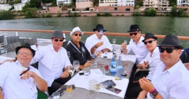 """Balmoral mit """"Königin Silvia"""" und """"Falke Exklusive"""" auf dem Neckar"""