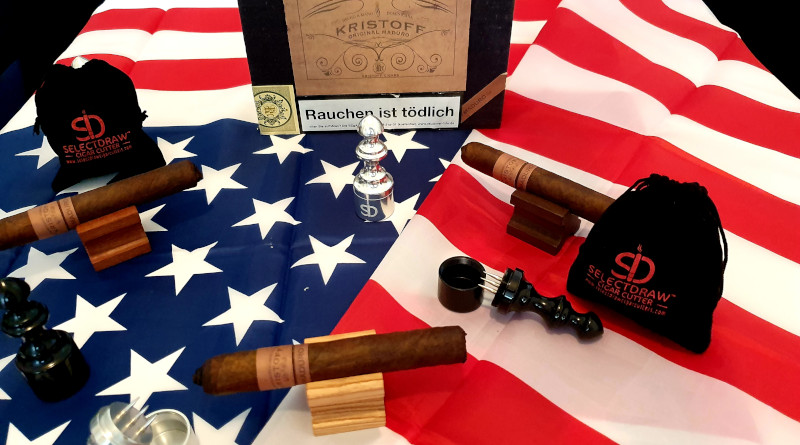 Das aktuelle Gewinnspiel: 5 Sets mit 1 Select Draw und 4 Kristoff Cigarren