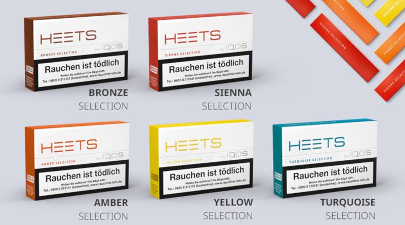 """HEETS begeistern jetzt als """"Sienna Selection"""" / Neues Design für das gesamte HEETS–Portfolio"""