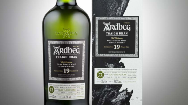 19-jähriger Whisky Ardbeg Traigh Bhan rundet das Programm an